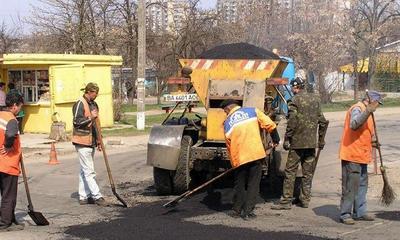 У Калуші тривають ремонти доріг
